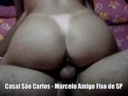 Casal de Sao Carlos com amigo